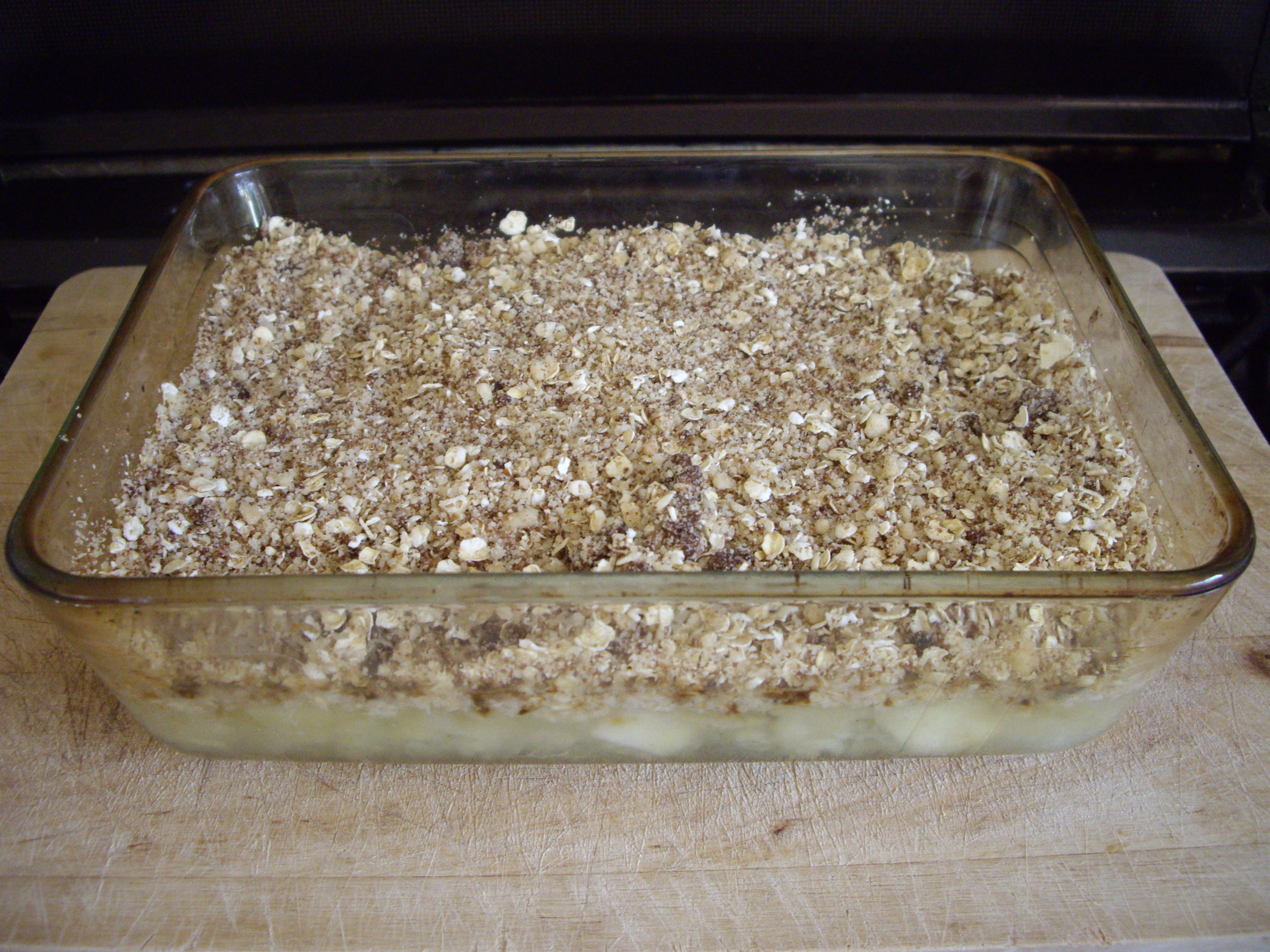 Oaty apple crumble | Hello! Hooray!