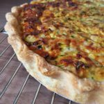 Tuna and Courgette Quiche