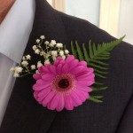 Make your own floral buttonholes