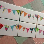 Tutorial: How to make your own bunting cards