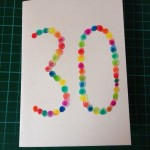 Watercolour birthday cards