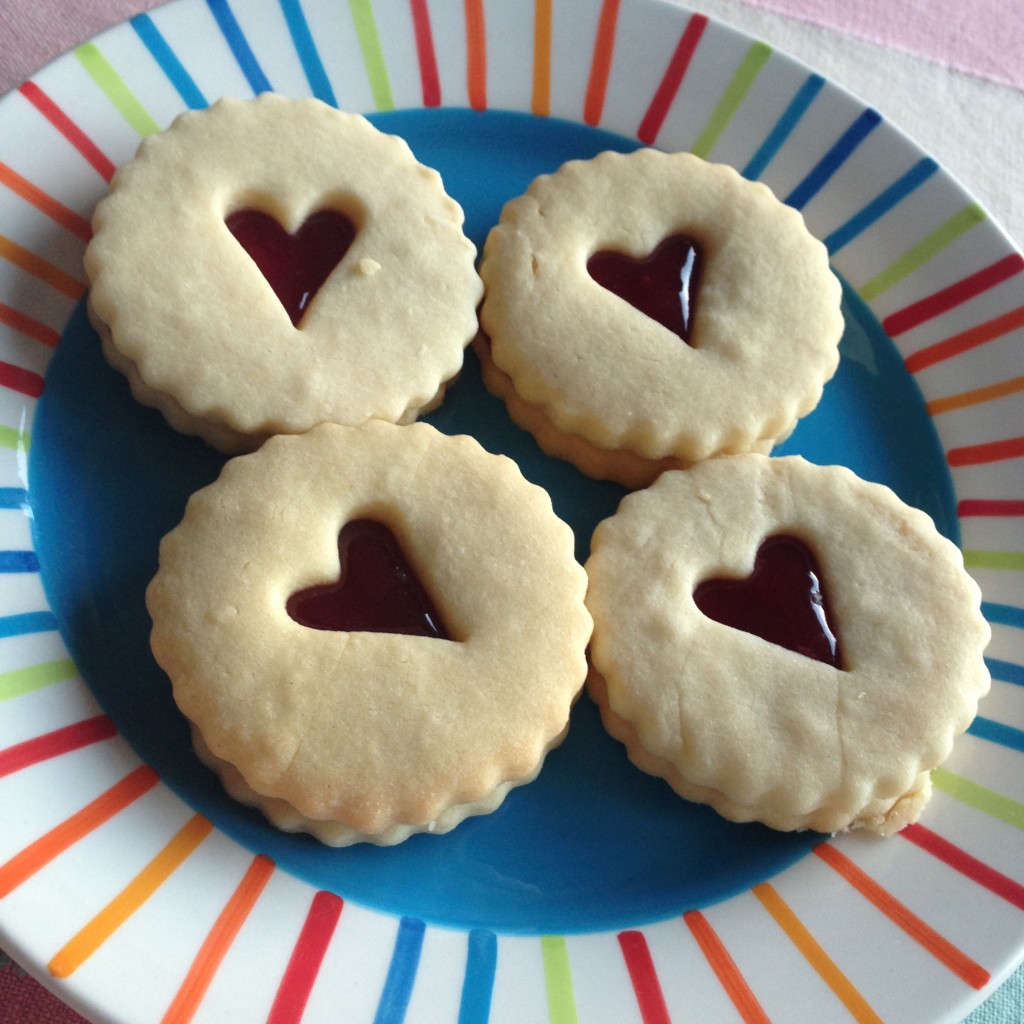 Butter sable biscuits
