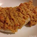 Cod with romesco sauce