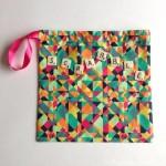 Scrabble letters bag