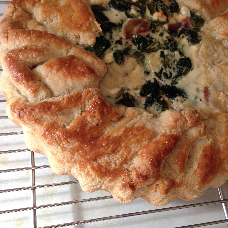 Spinach and feta tart | Hello! Hooray!