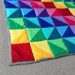 More rainbow quilting