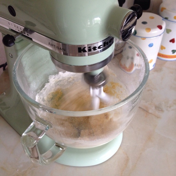 Our fab Kitchen Aid mixer!