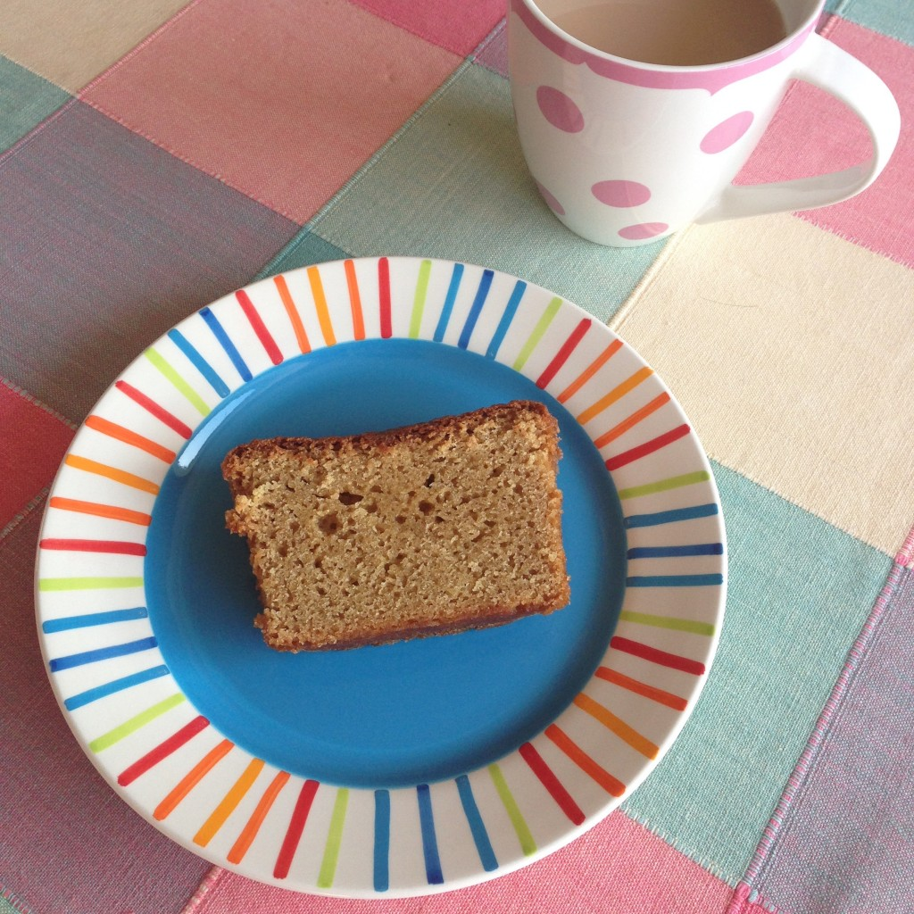 Buttermilk cake and a cuppa!