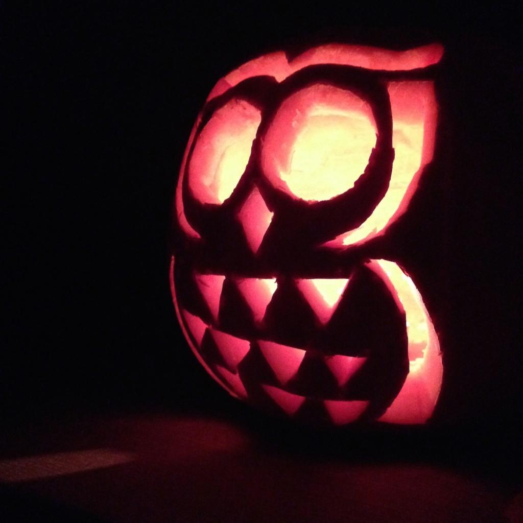 I love this little pumpkin owl!