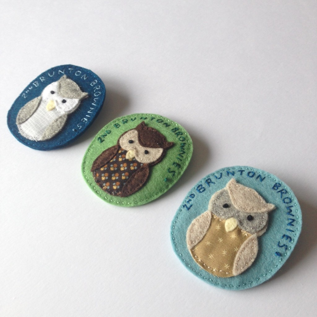 Owl badges