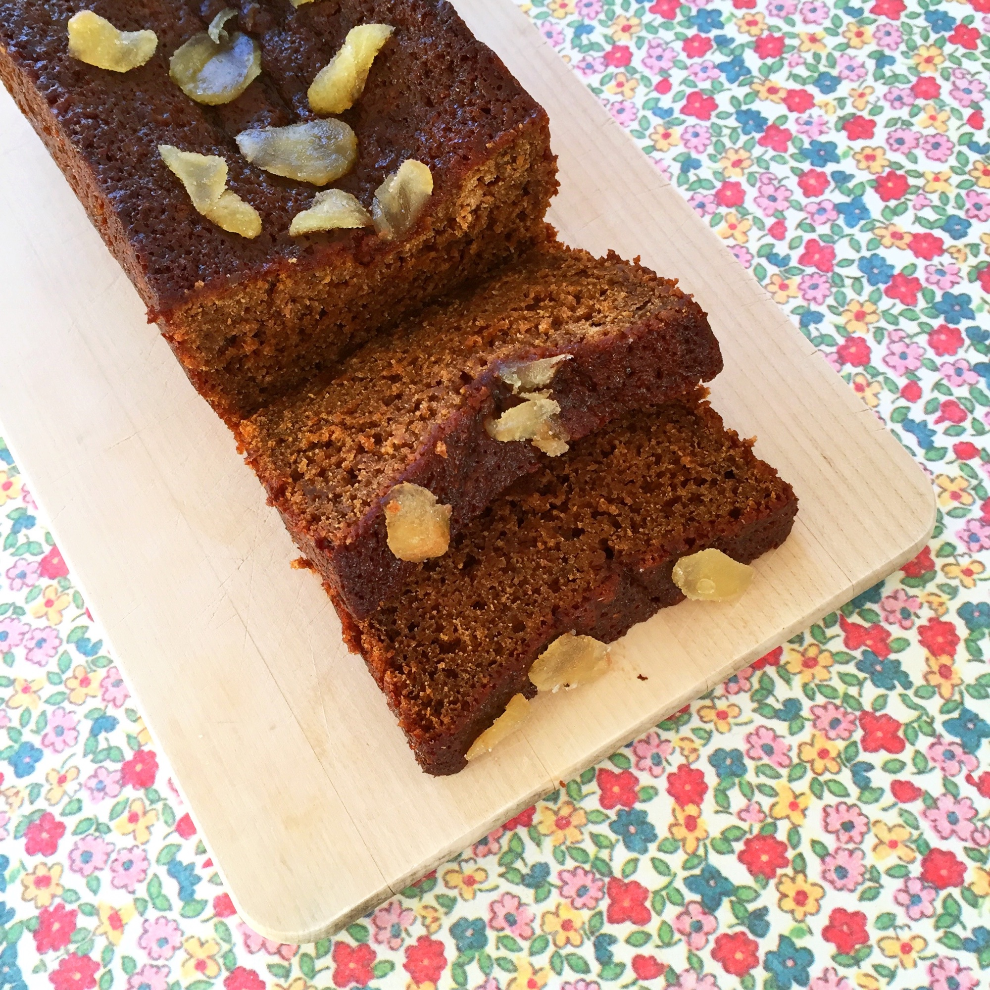 Squidgy pumpkin and ginger loaf | Hello! Hooray!