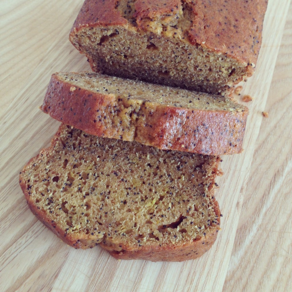 Pumpkin, lemon and poppy seed loaf | Hello! Hooray!