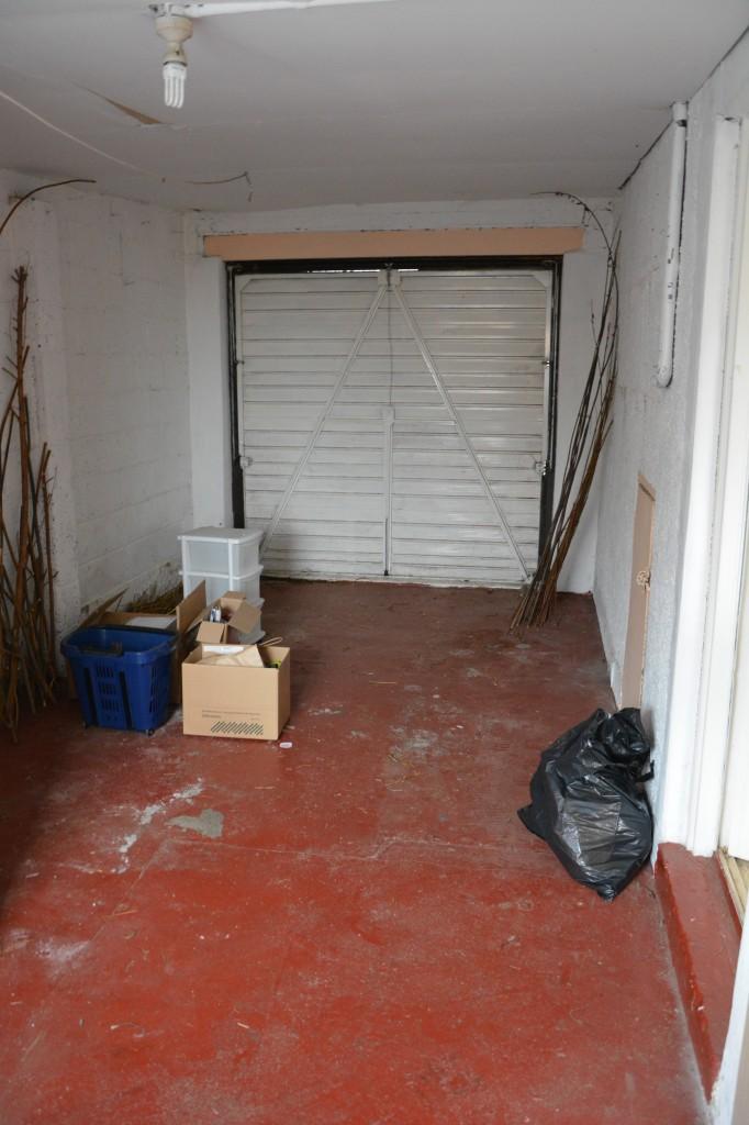 Garage - front view