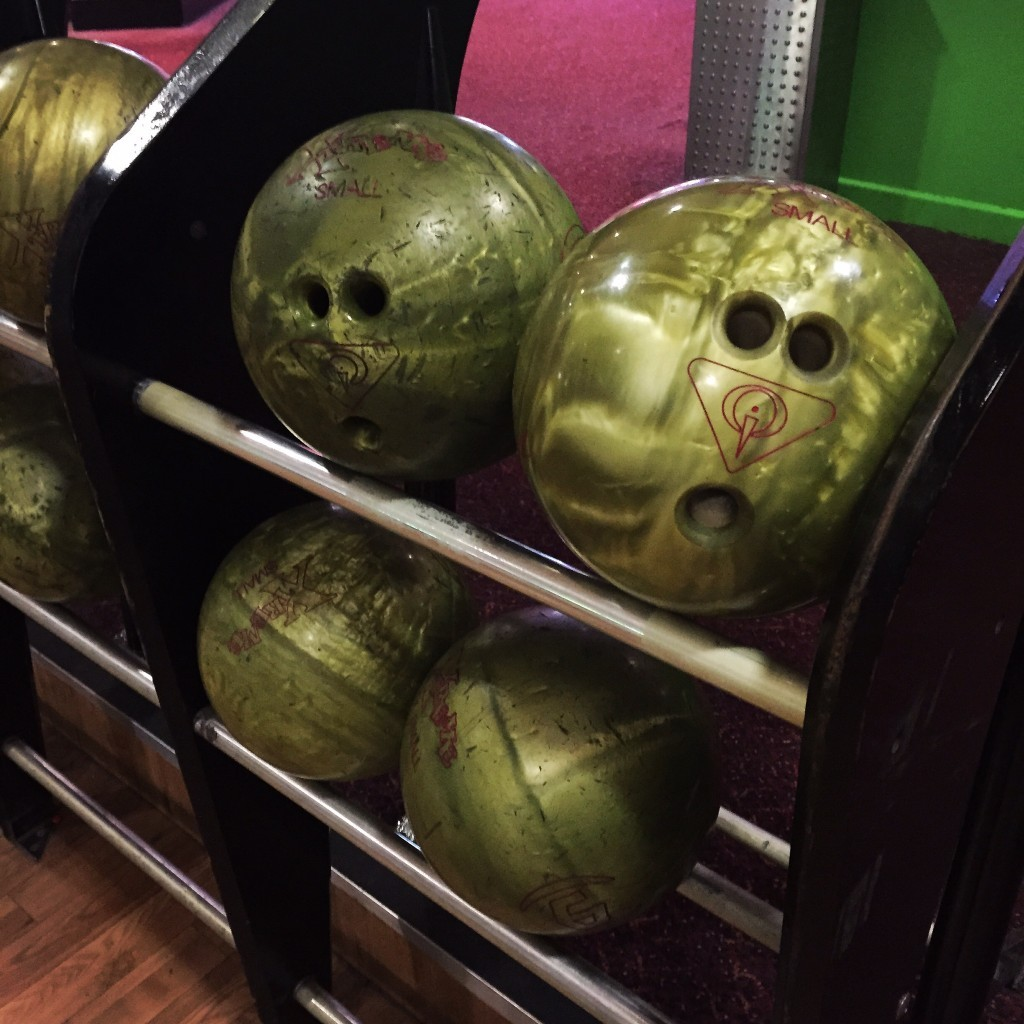 Bowling faces in places!