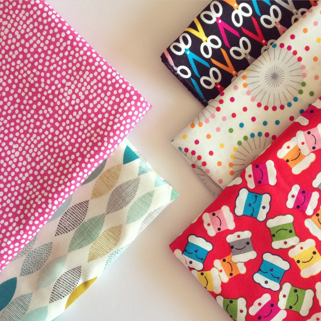 Crafty plans with lovely fabrics