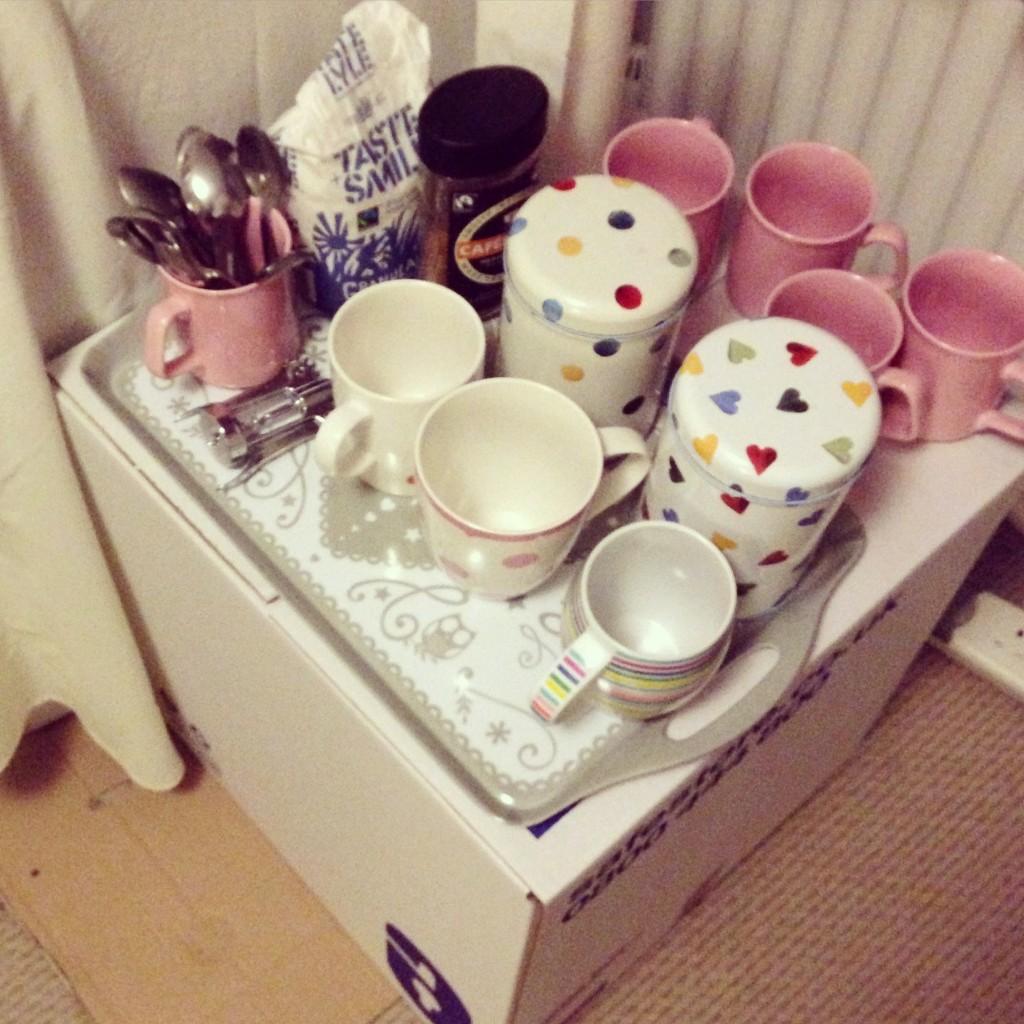 Tea corner