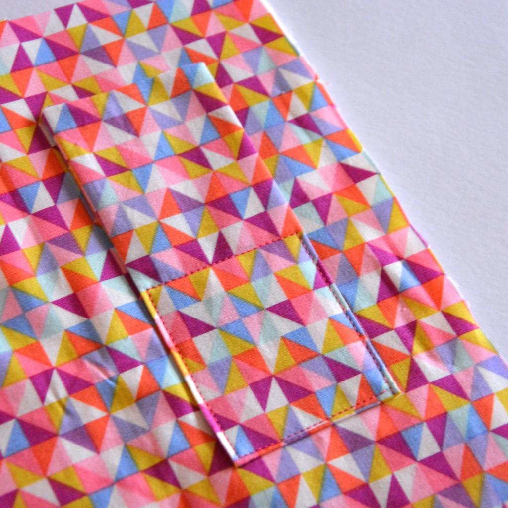 Stitch along each edge