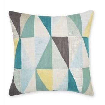 geometric cushions