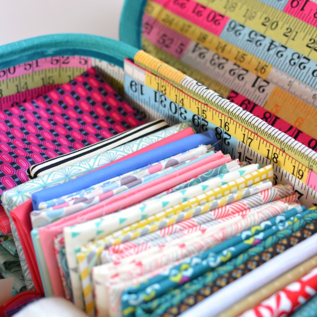 Fat quarters stash