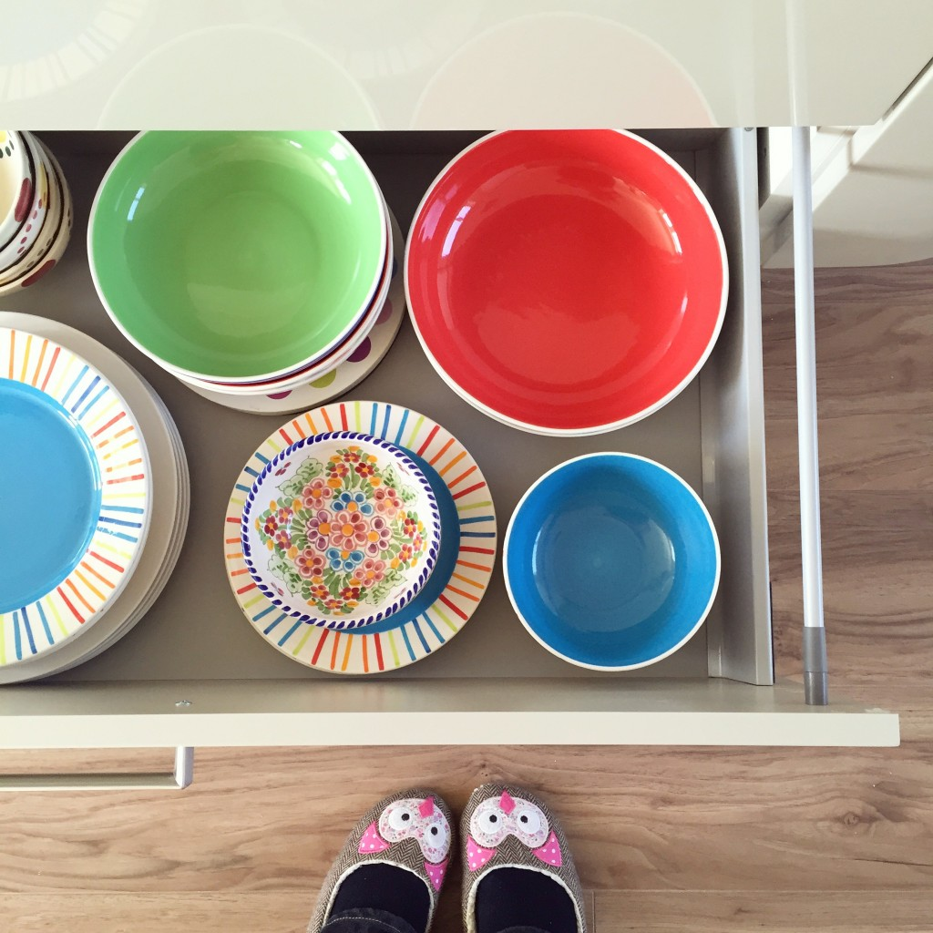 Colourful plates