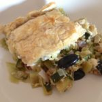 Courgette Filo Pie