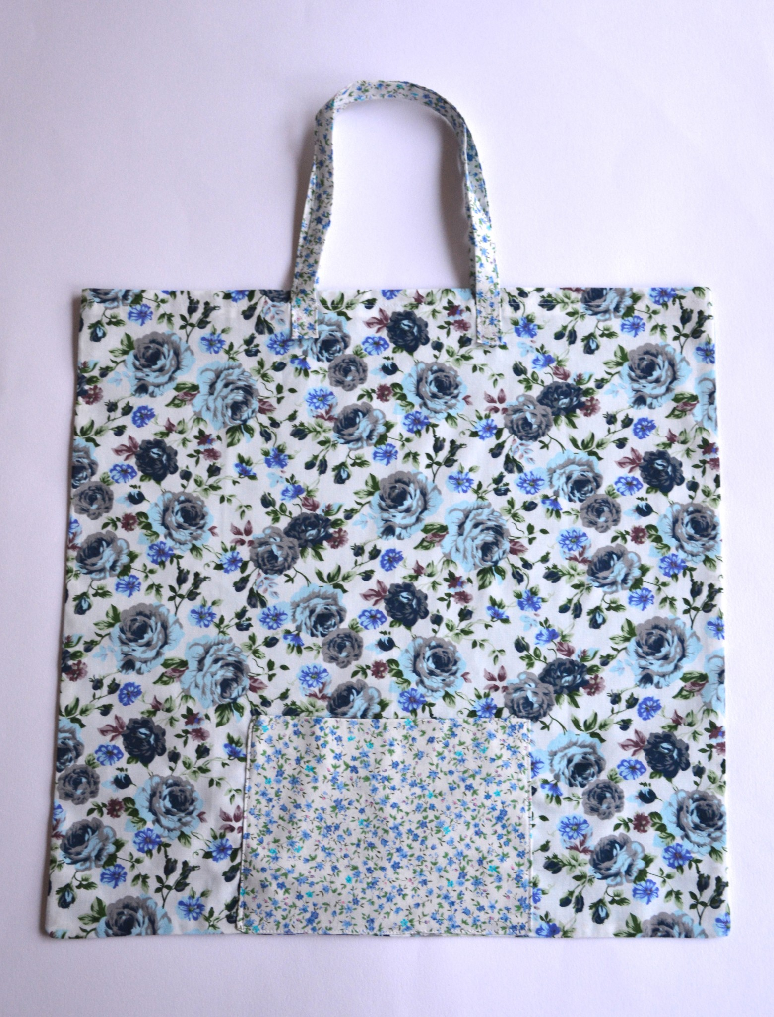 Hello! Hooray! Foldaway bag tutorial