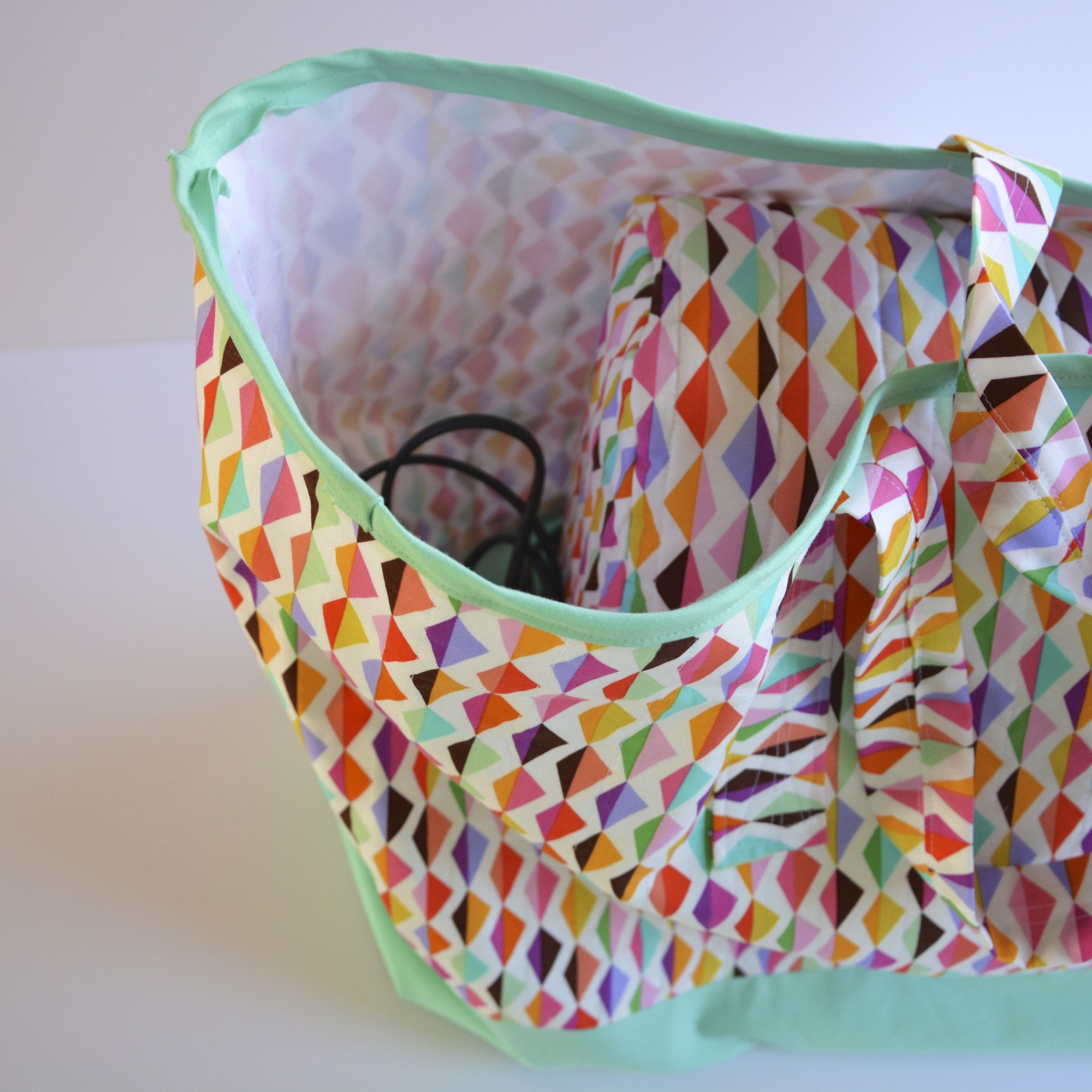 My sewing machine bag fits everything in!