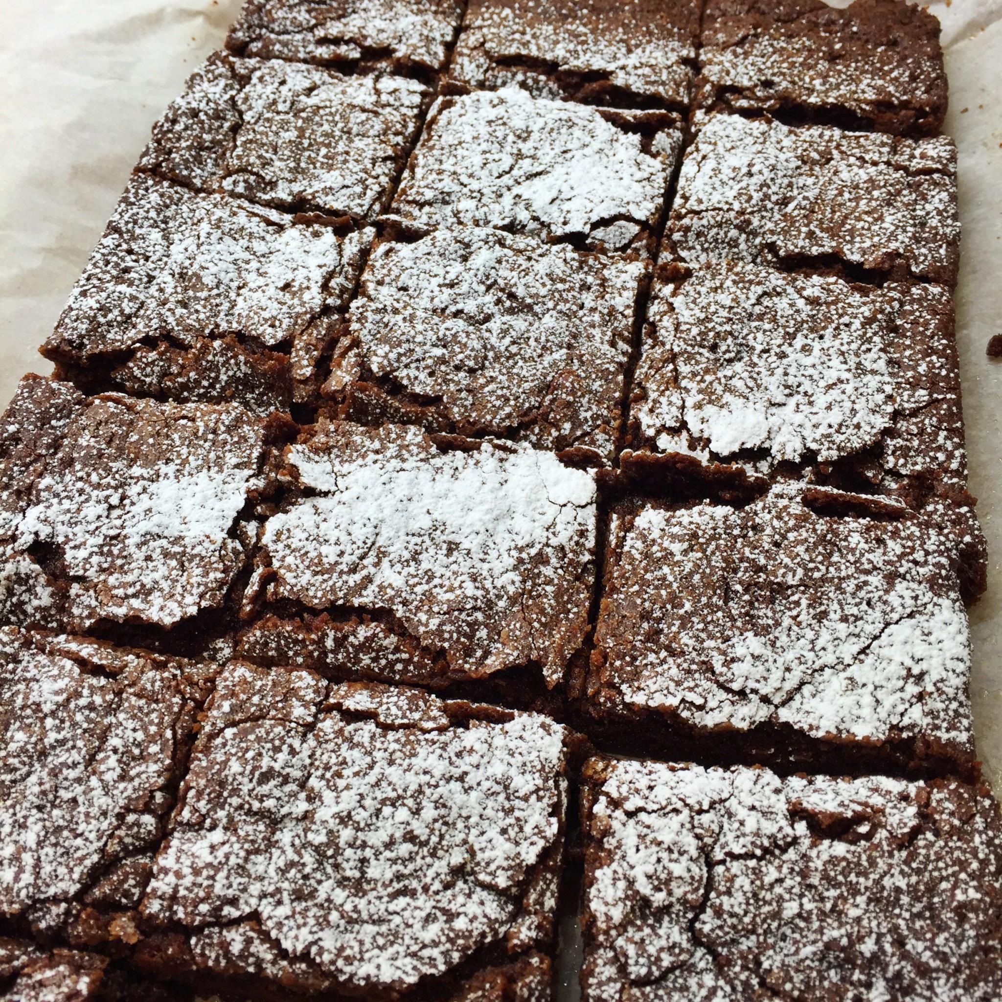 Hummingbird Bakery Brownies   Hello! Hooray!