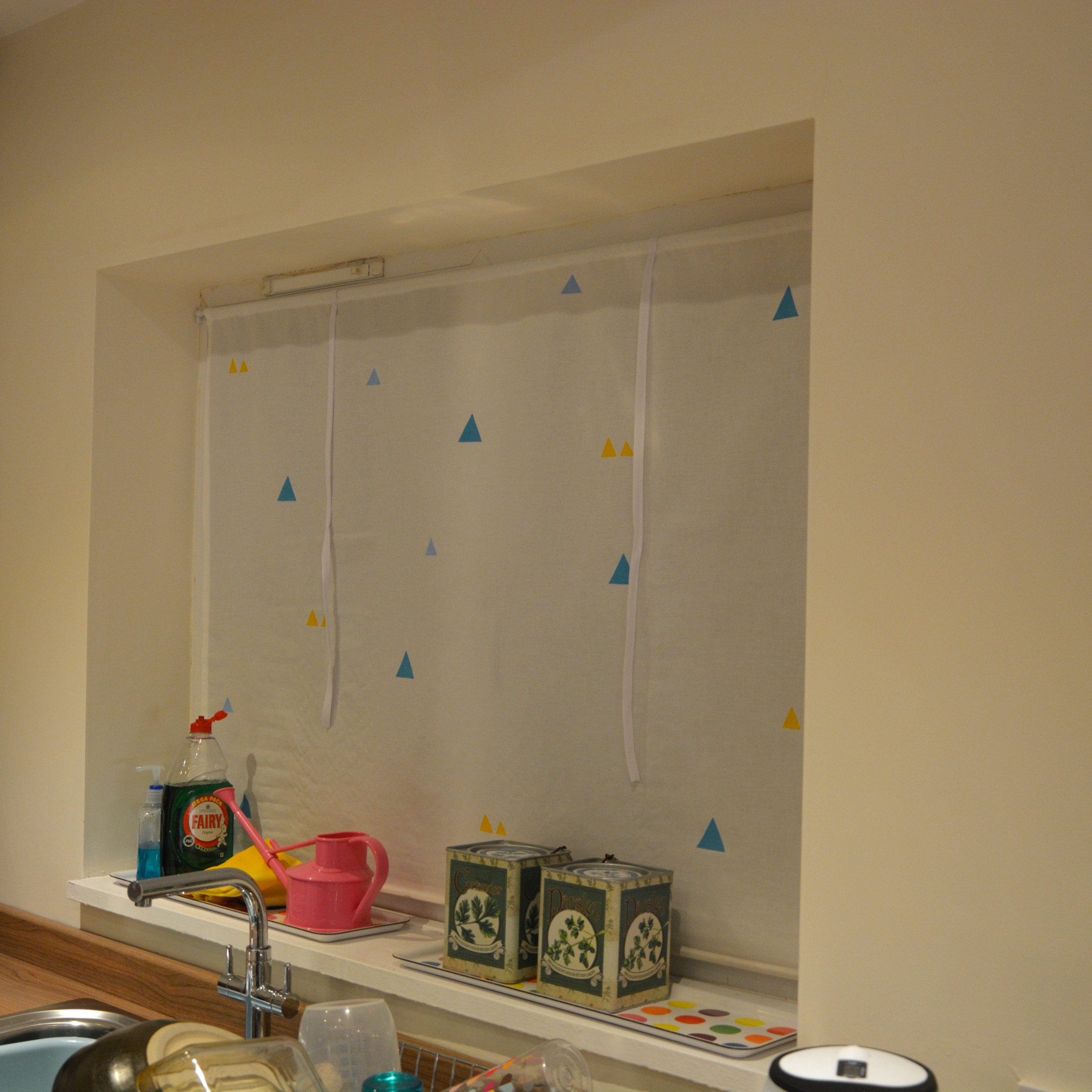 Large window blind | Hello! Hooray!
