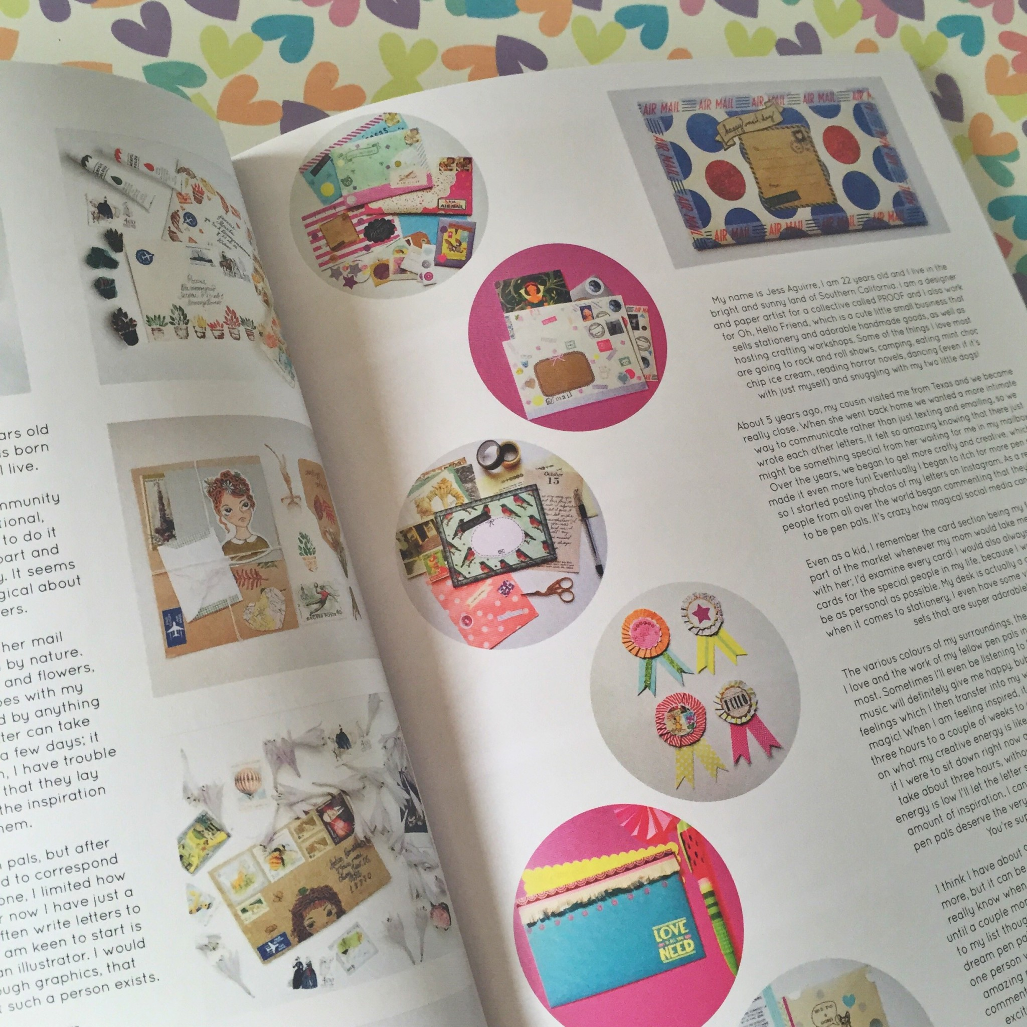 Caboodle Magazine snail mail feature