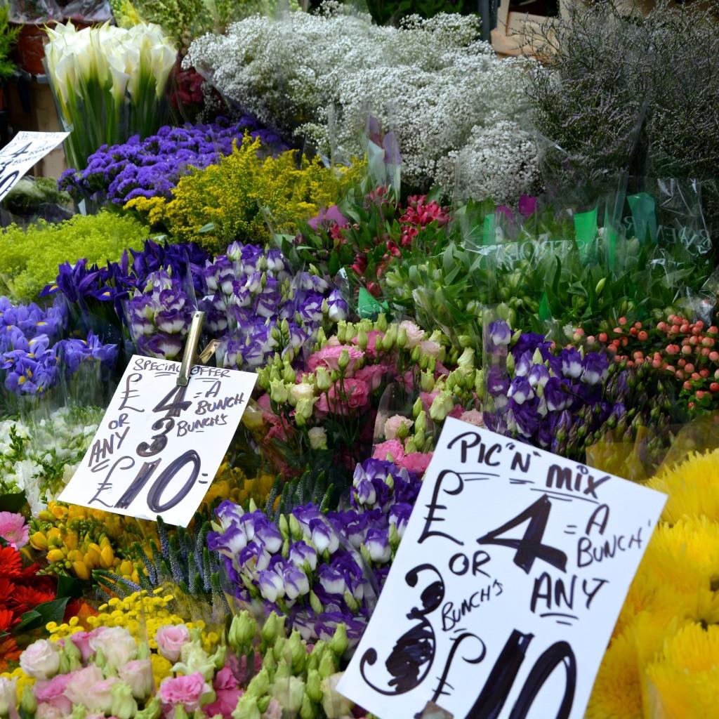 Market stall at Columbia Road | Hello! Hooray!