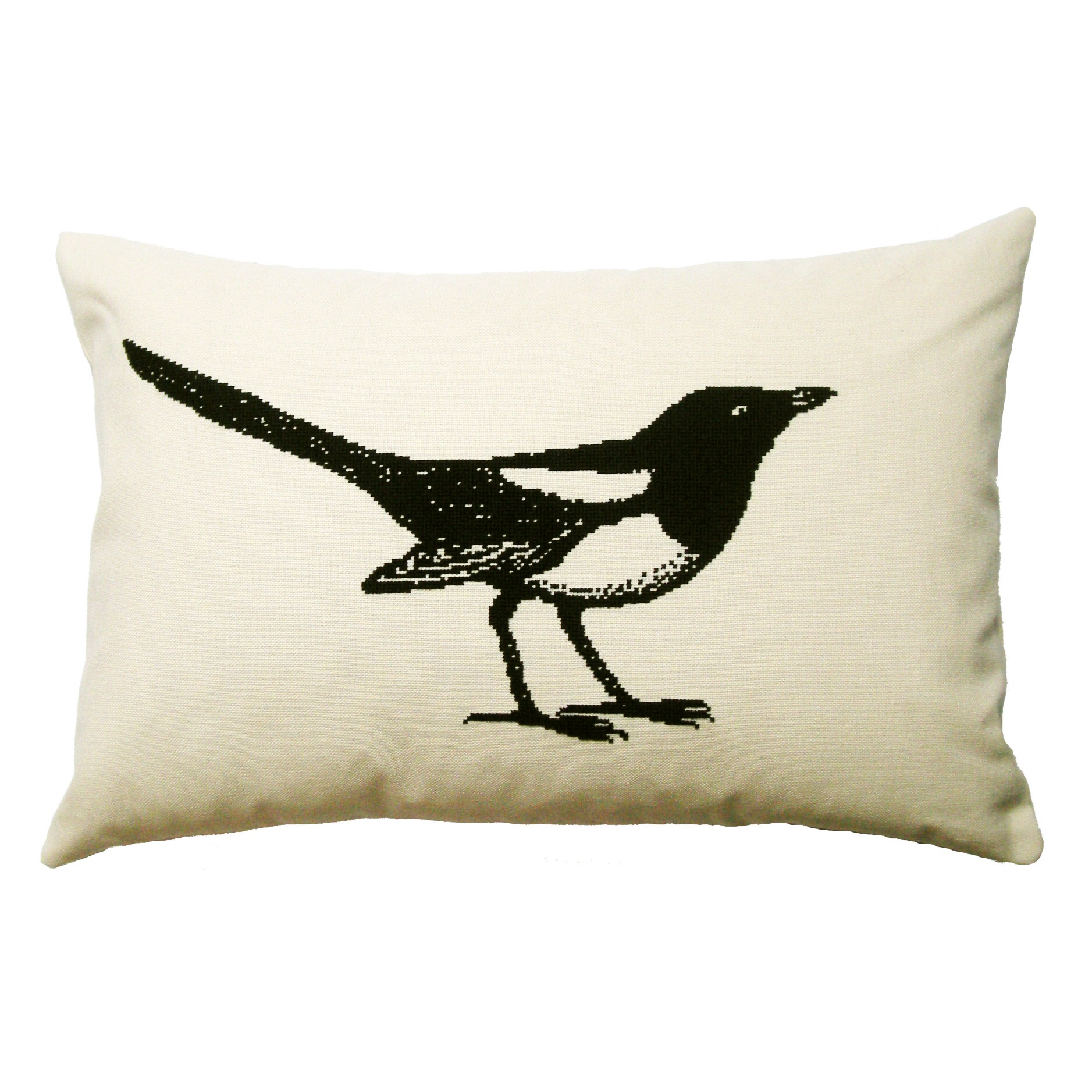 Mr Magpie Cushion PDF Pattern - Credit What Delilah Did