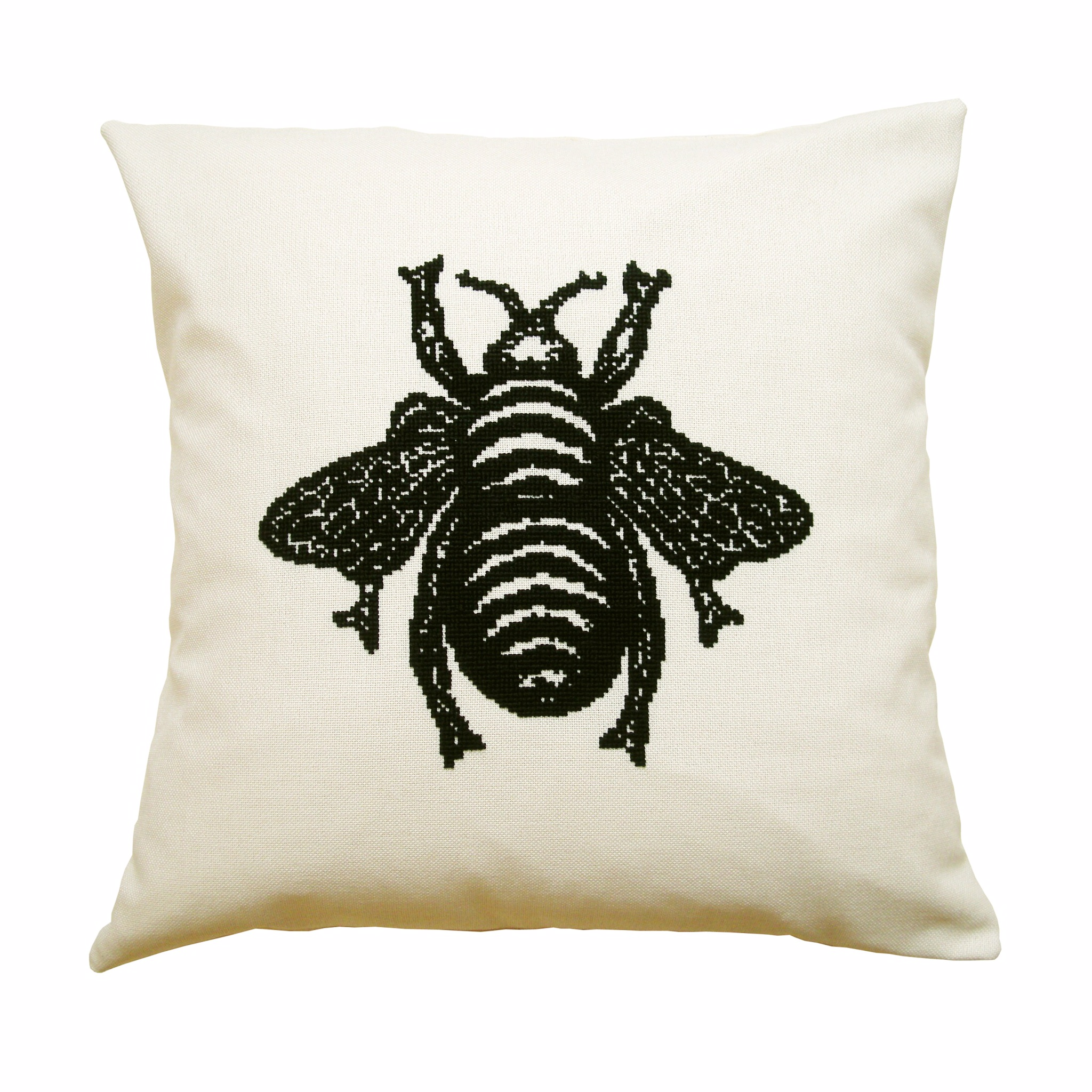 Bee Cushion PDF Pattern - Credit What Delilah Did