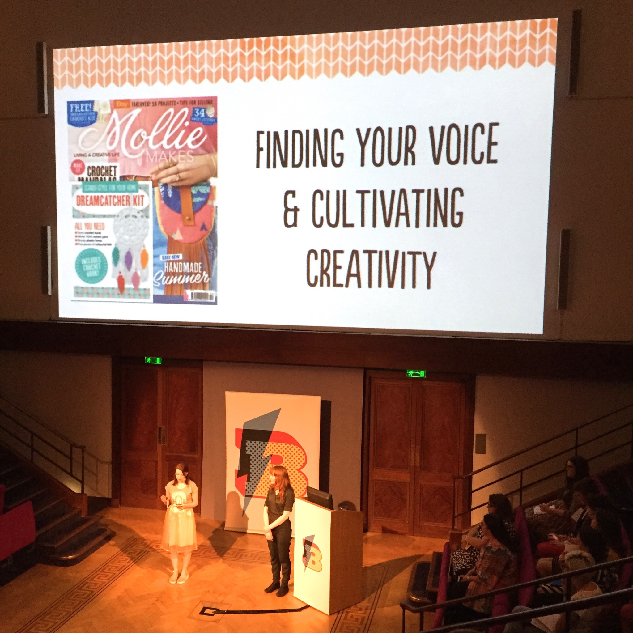 Mollie Makes at Blogtacular 2015