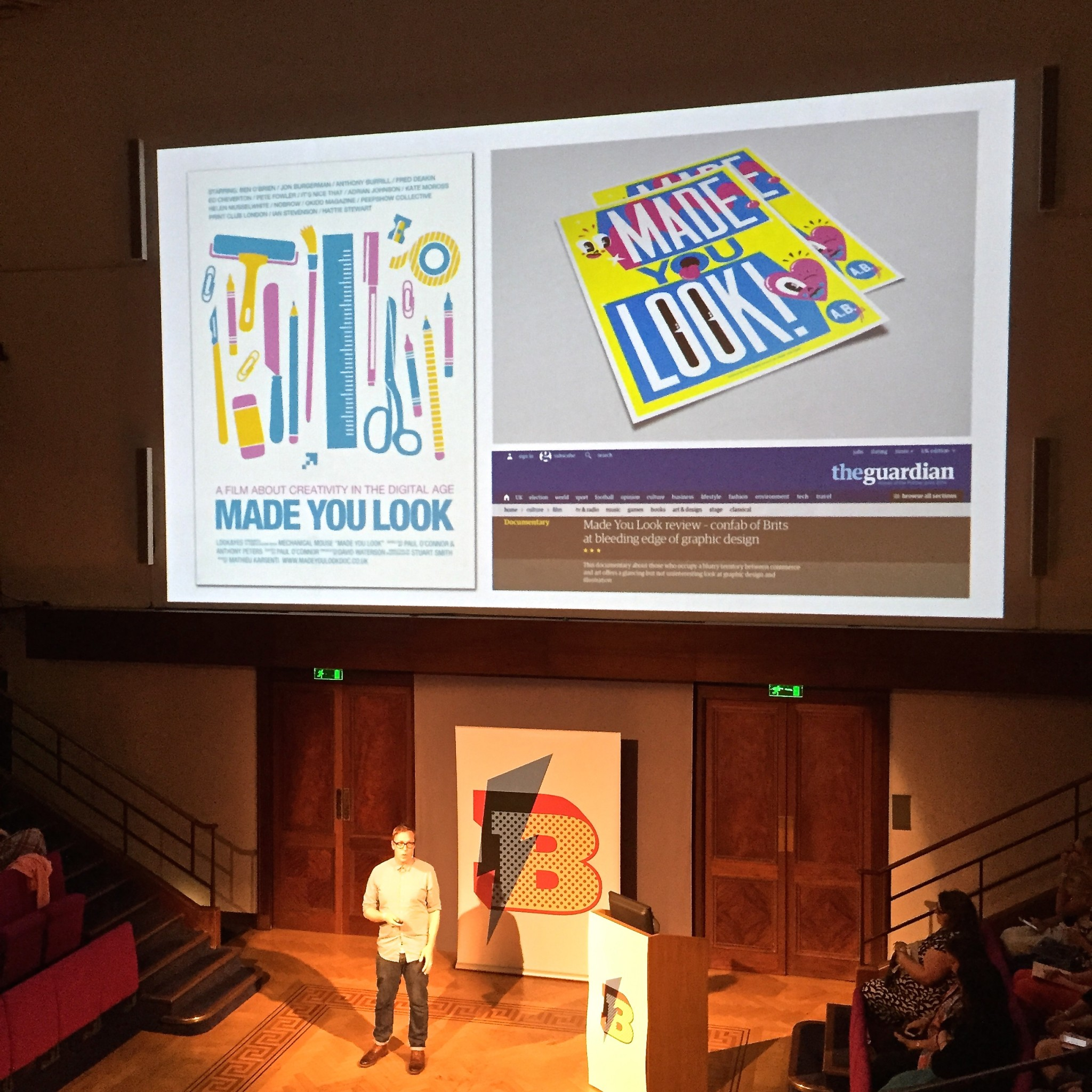 Anthony Peters at Blogtacular 2015