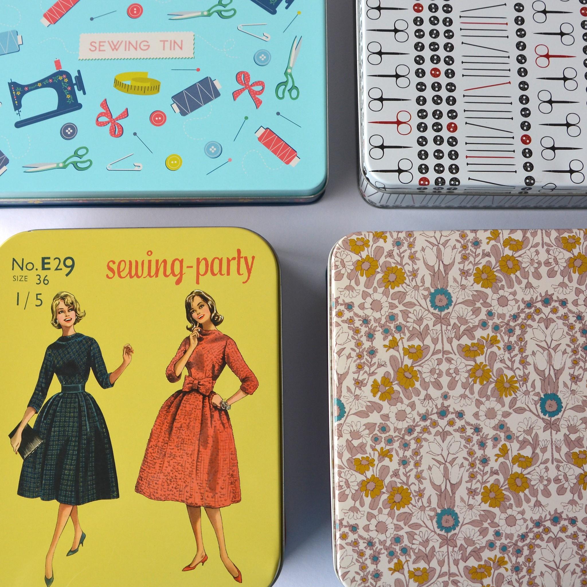 Sewing tins   Hello! Hooray!