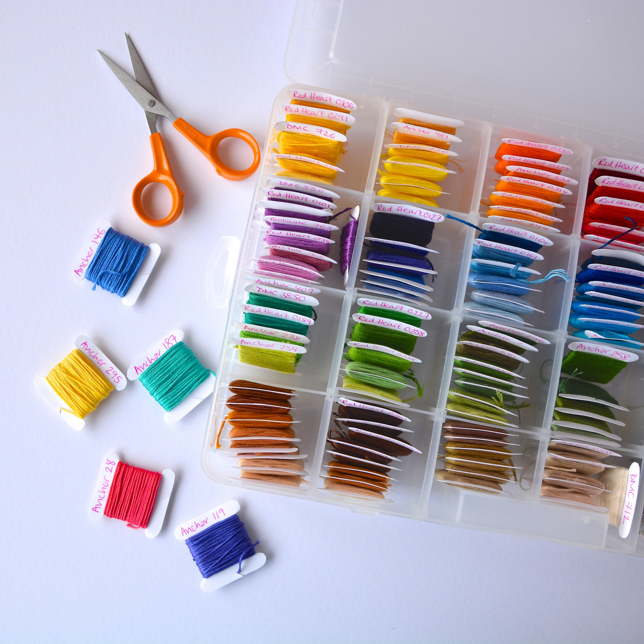 Embroidery thread | Hello! Hooray!
