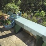 Sleeper bench makeover