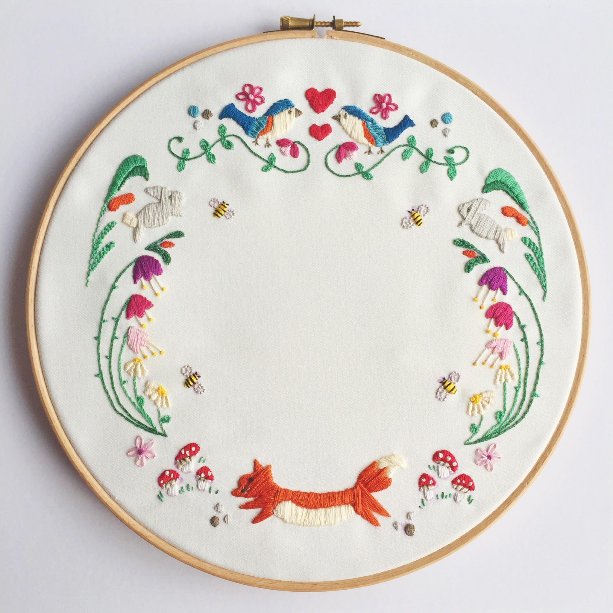 Woodland embroidery | Hello! Hooray!