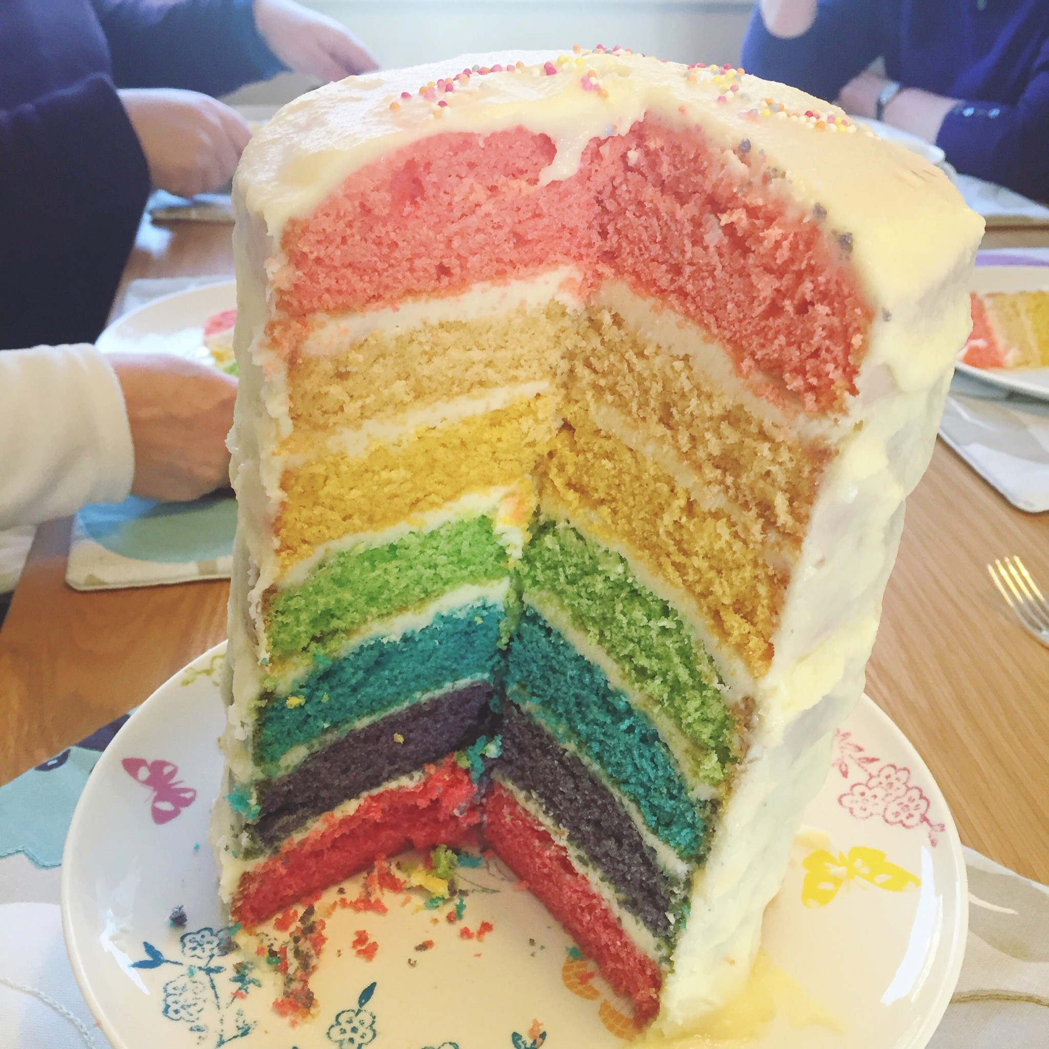 Rainbow cake | Hello! Hooray!