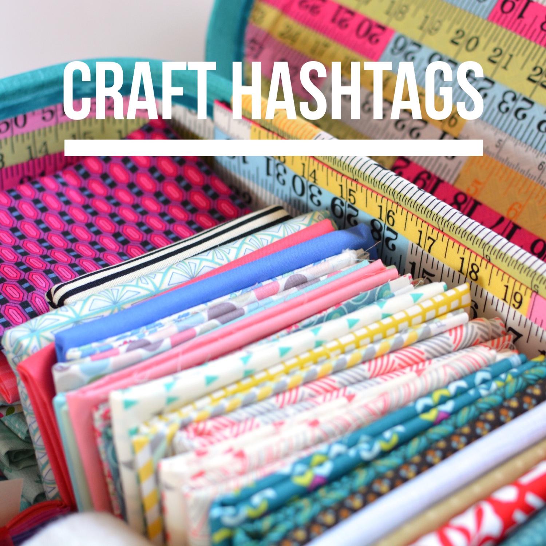 Craft hashtags | Hello! Hooray!