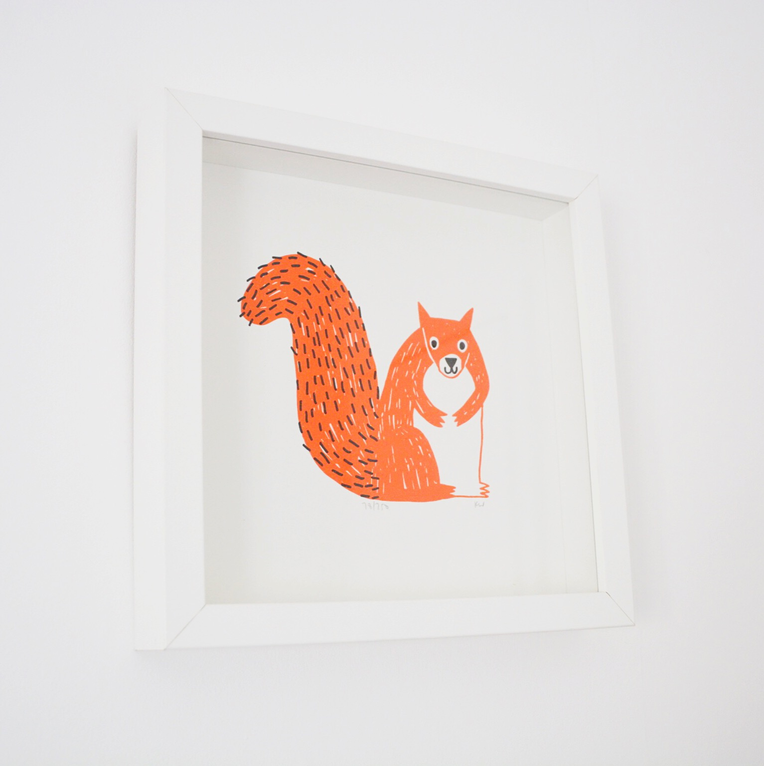 Miri Studio squirrel print | Hello! Hooray!