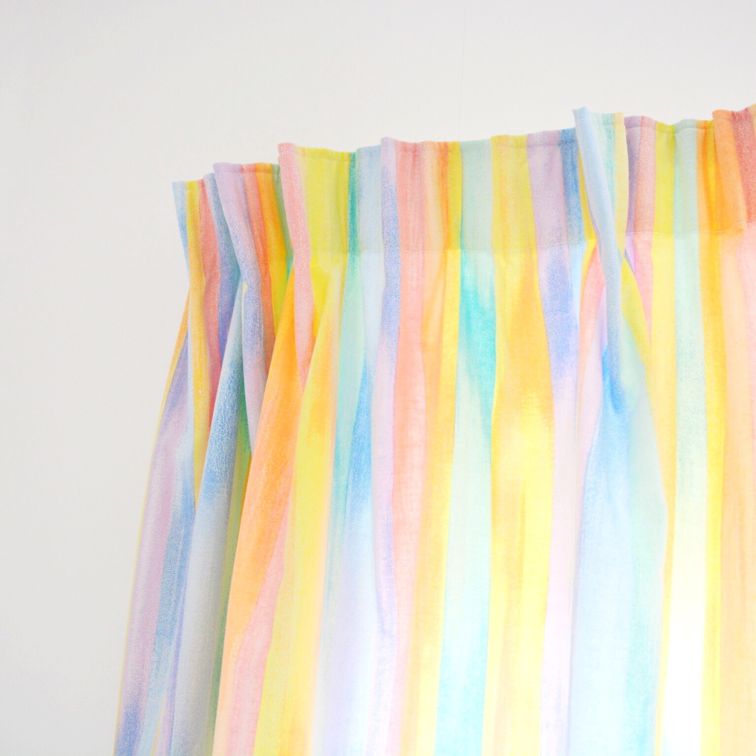 Upcycled nursery curtains | Hello! Hooray!
