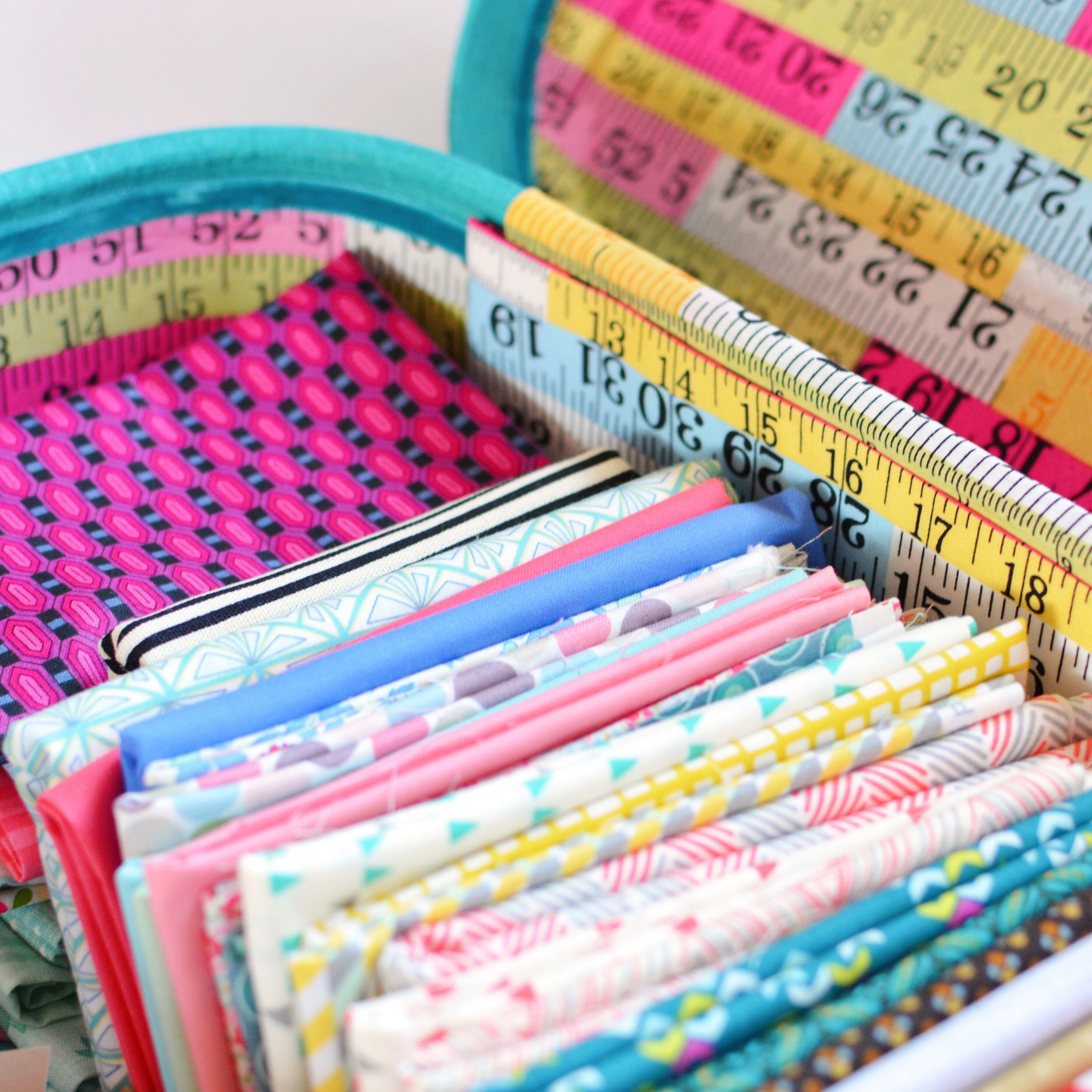 Fat quarter stash | Hello! Hooray!
