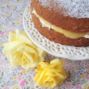 Mary Berry's Lemon Victoria Sponge | Hello! Hooray!