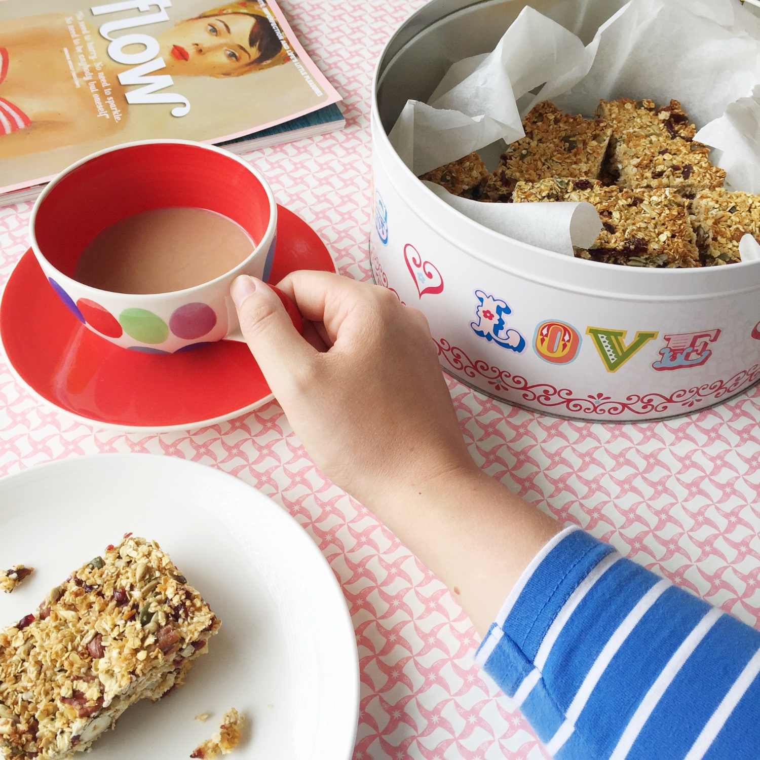 Nigella Lawson's breakfast bars | Hello! Hooray!