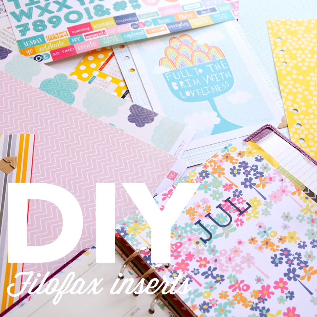 DIY Filofax inserts | Hello! Hooray!