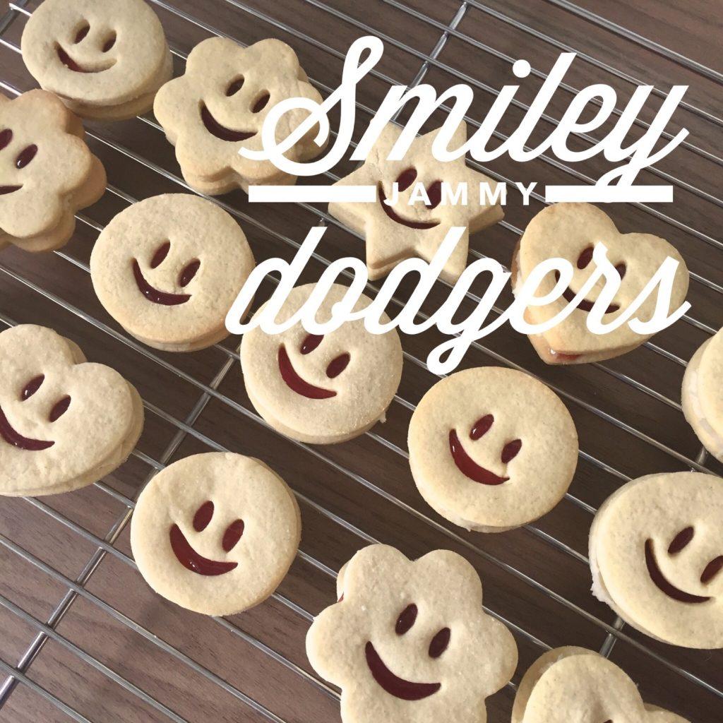 Smiley jammy dodgers | Hello! Hooray!