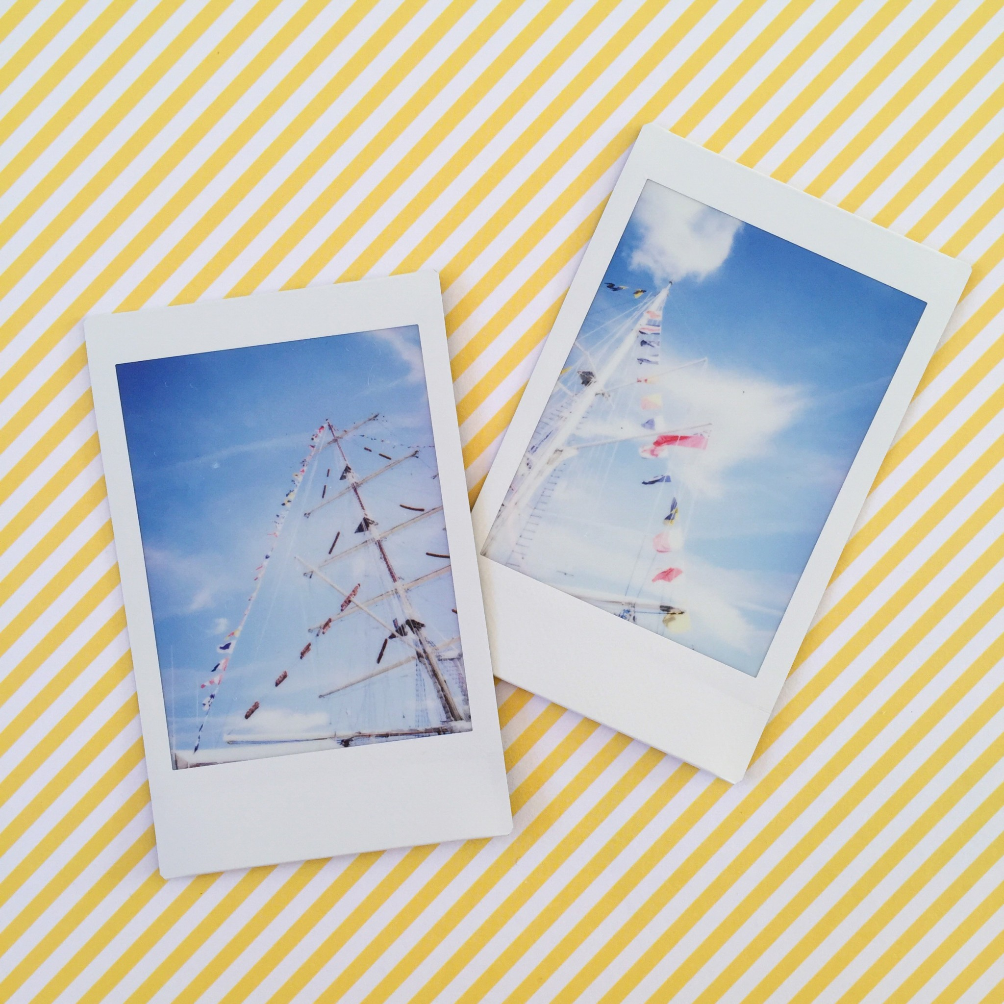 Summer polaroid pictures tall ships | Hello! Hooray!