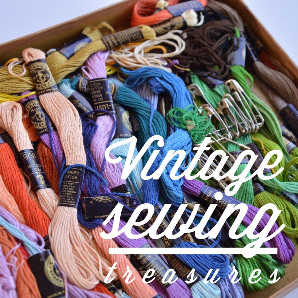 Vintage sewing treasures | Hello! Hooray!